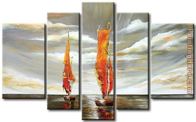 landscape 3364 Stretched Canvas Painting