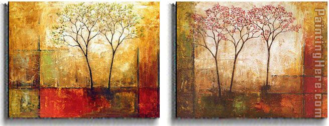 Klung Morning Luster painting - landscape Klung Morning Luster art painting