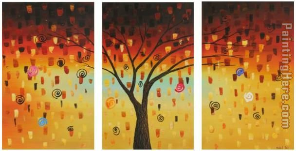 Tree's Dreams painting - landscape Tree's Dreams art painting