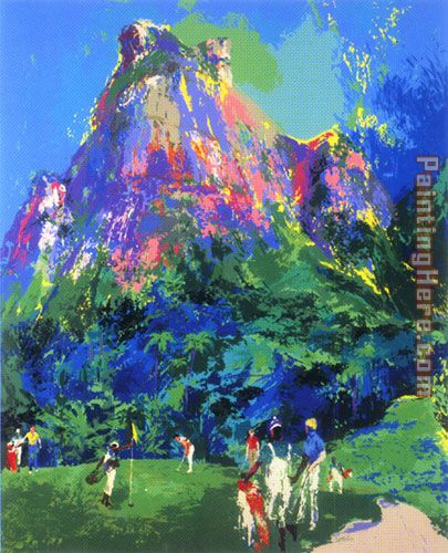 Leroy Neiman International Foursome Art Painting