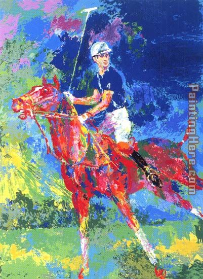 Prince Charles At Windsor painting - Leroy Neiman Prince Charles At Windsor art painting