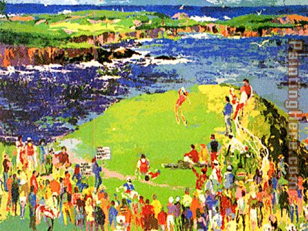 Leroy Neiman The 16th at Cypress Art Painting