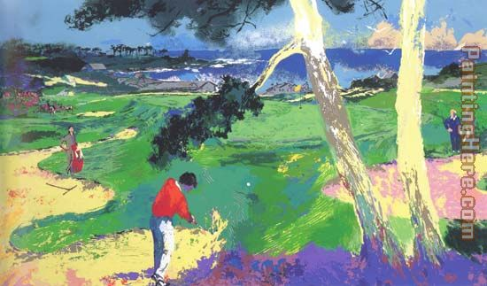 Leroy Neiman The 1st at Spyglass Art Painting
