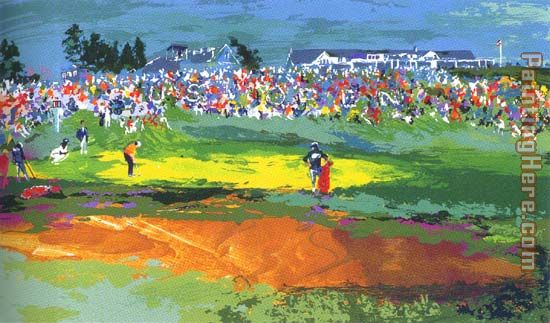 Leroy Neiman The Home Hole at Shinnecock Art Painting