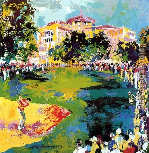 Westchester Classic painting - Leroy Neiman Westchester Classic art painting
