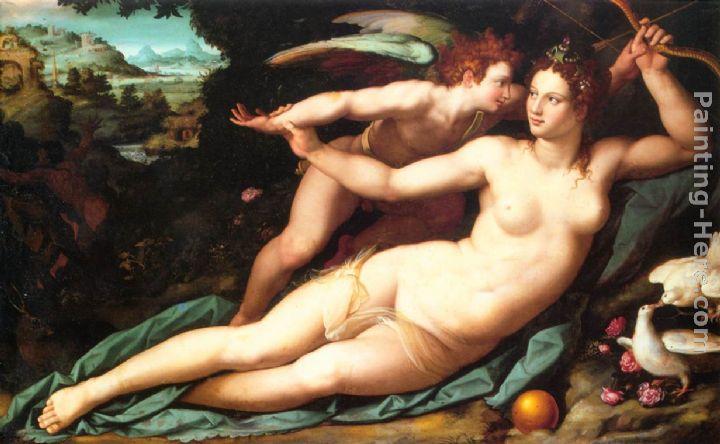 Cupid And Venus