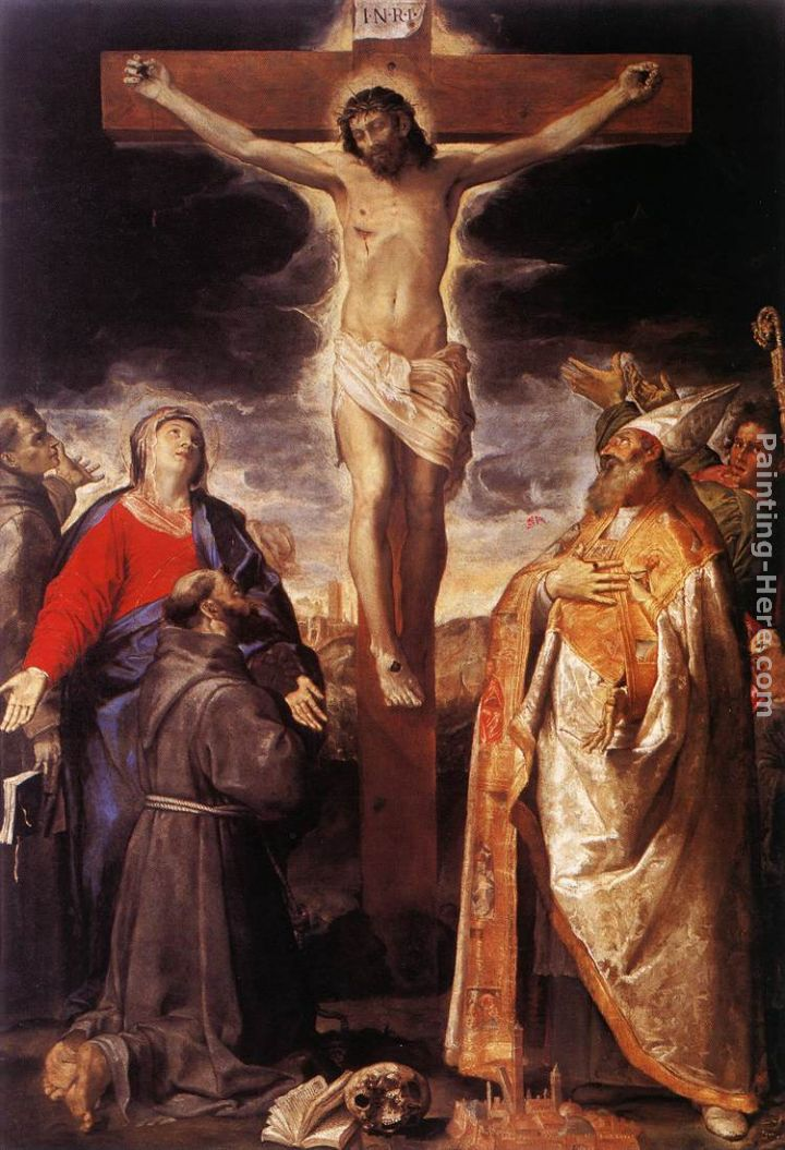 Annibale Carracci Crucifixion Painting Anysize 50 Off
