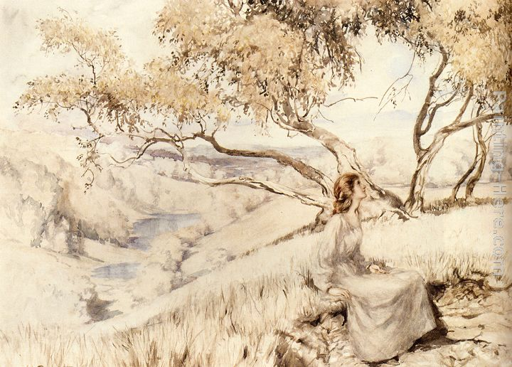 Arthur Rackham The Song Of The Lark Art Painting