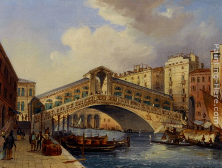 Carlo Grubacs The Rialto Art Painting