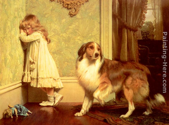 Charles Burton Barber A Special Pleader Art Painting