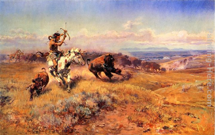 Horse of the Hunter painting - Charles Marion Russell Horse of the Hunter art painting