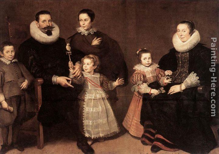 Cornelis De Vos Family Portrait Painting Anysize 50 Off
