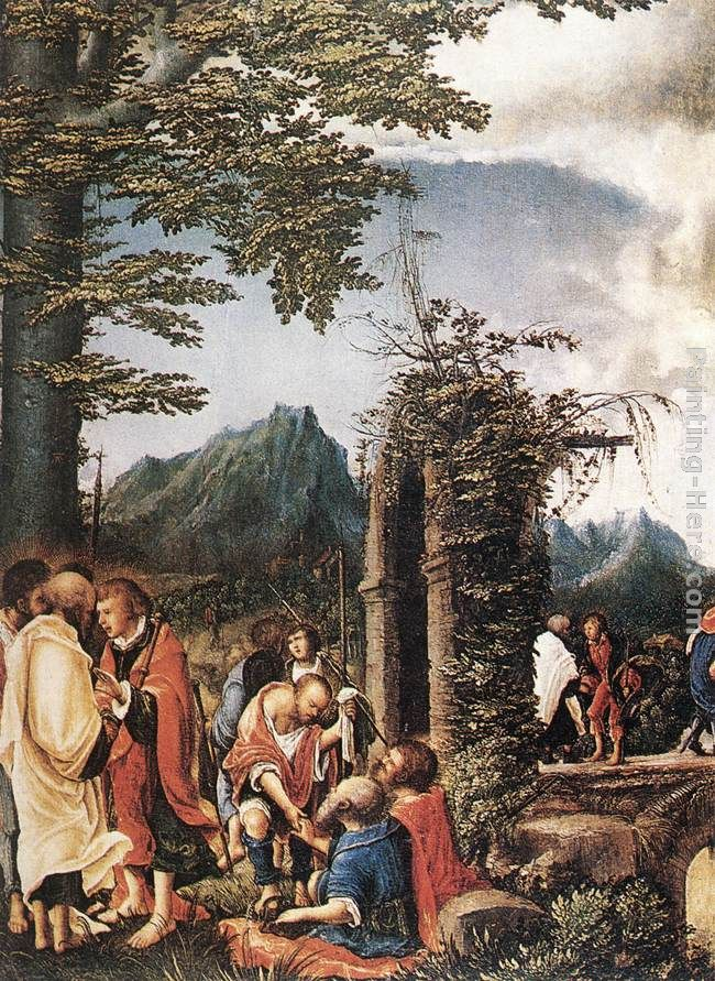 Denys van Alsloot Communion Of The Apostles Art Painting
