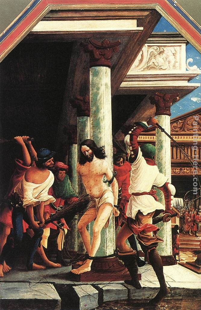 Denys van Alsloot The Flagellation Of Christ Art Painting