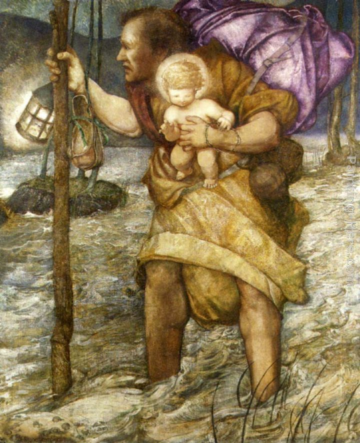56 best images about Saint Christopher on Pinterest | Hieronymus ...