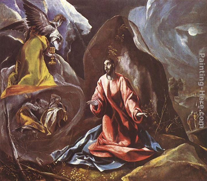 El Greco Agony In The Garden Painting Anysize 50 Off Agony In The Garden Painting For Sale