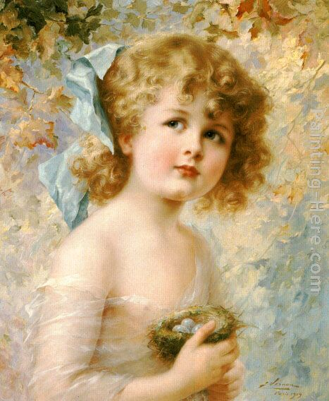 The Youth - Emile Vernon - Paintings - Online Art Gallery : Fine