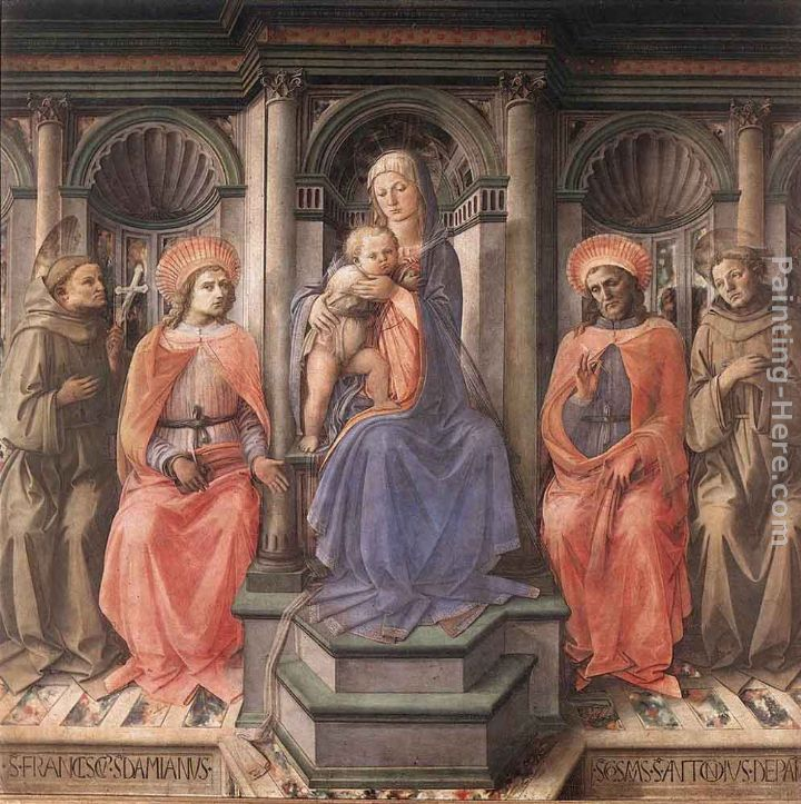 Madonna Enthroned with Saints
