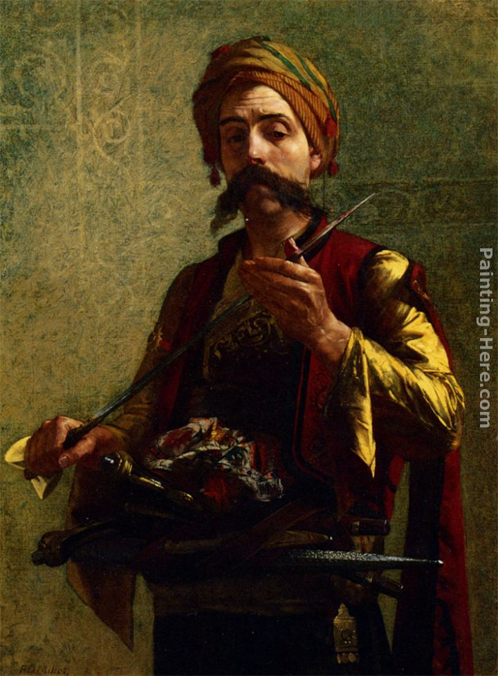 The Turkish Soldier Painting