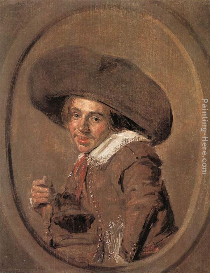 A Young Man in a Large Hat painting - Frans Hals A Young Man in a Large Hat art painting