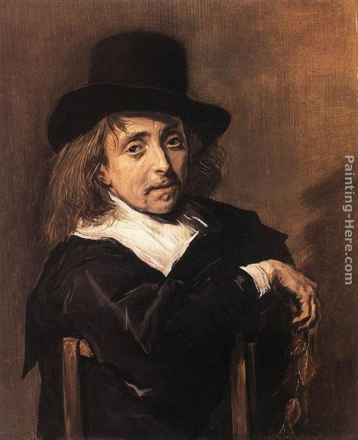 Seated Man Holding a Branch painting - Frans Hals Seated Man Holding a Branch art painting