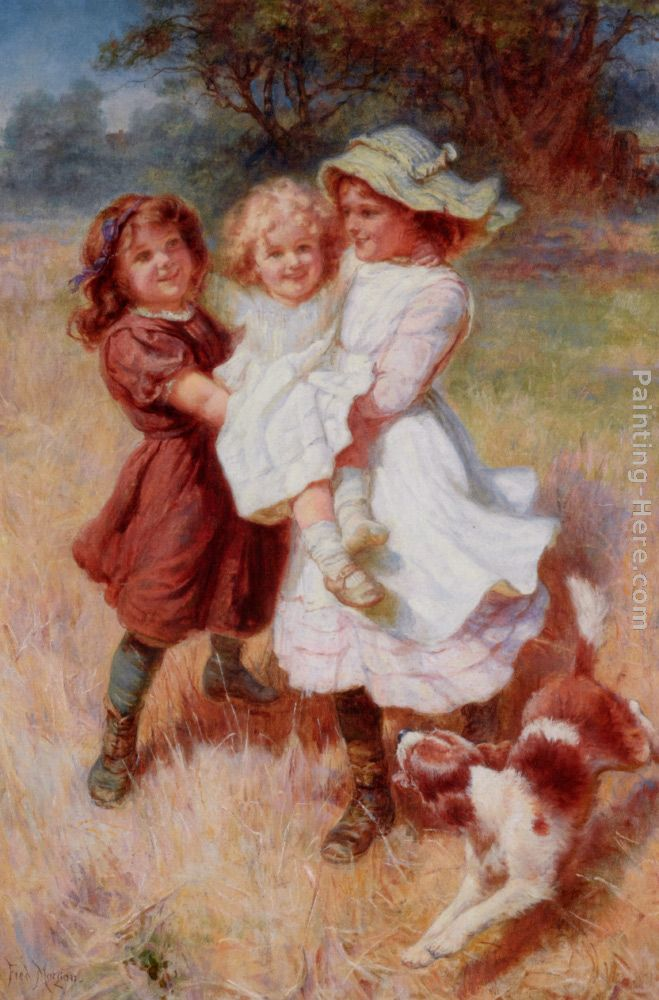 Frederick Morgan Good Friends Art Painting