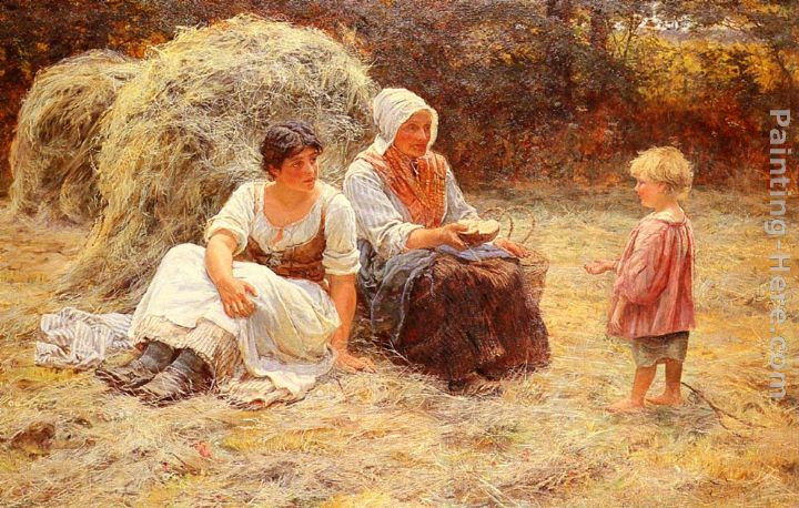 Frederick Morgan Midday Rest Art Painting