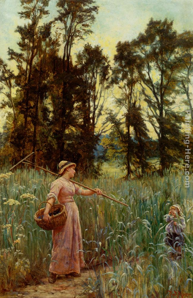 Frederick Morgan Not Far To Go Art Painting