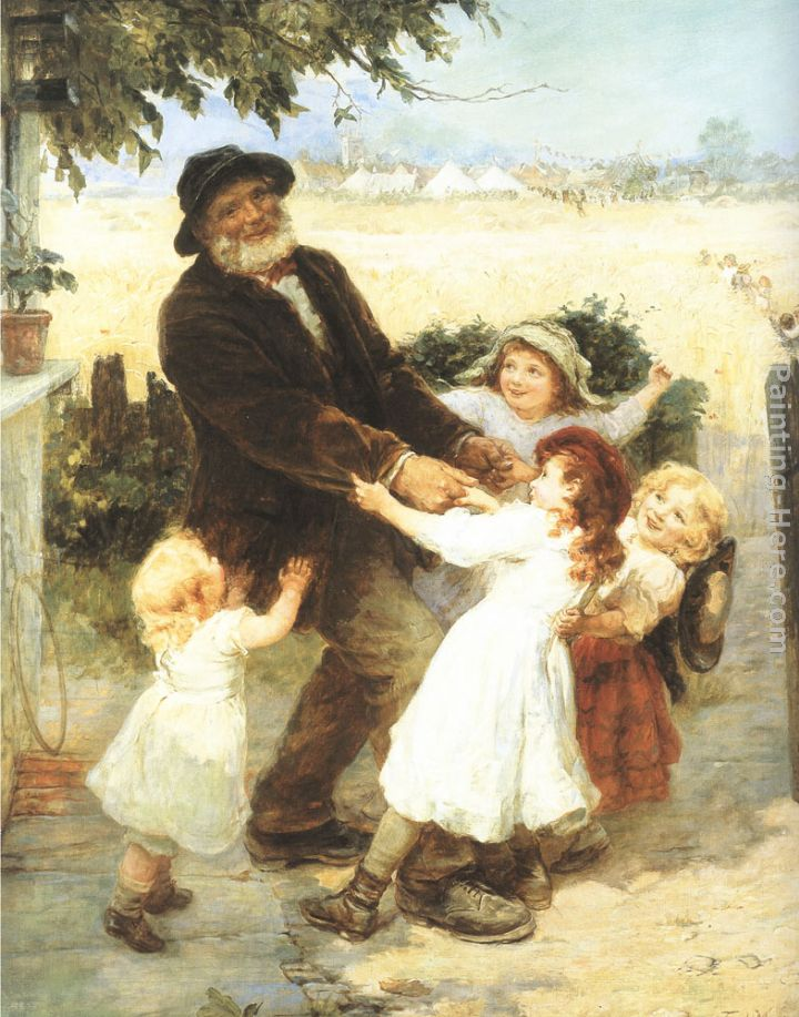 Off to the Fair painting - Frederick Morgan Off to the Fair art painting