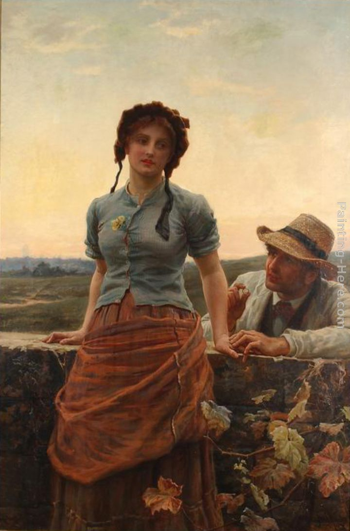 Frederick Morgan The Proposal Art Painting