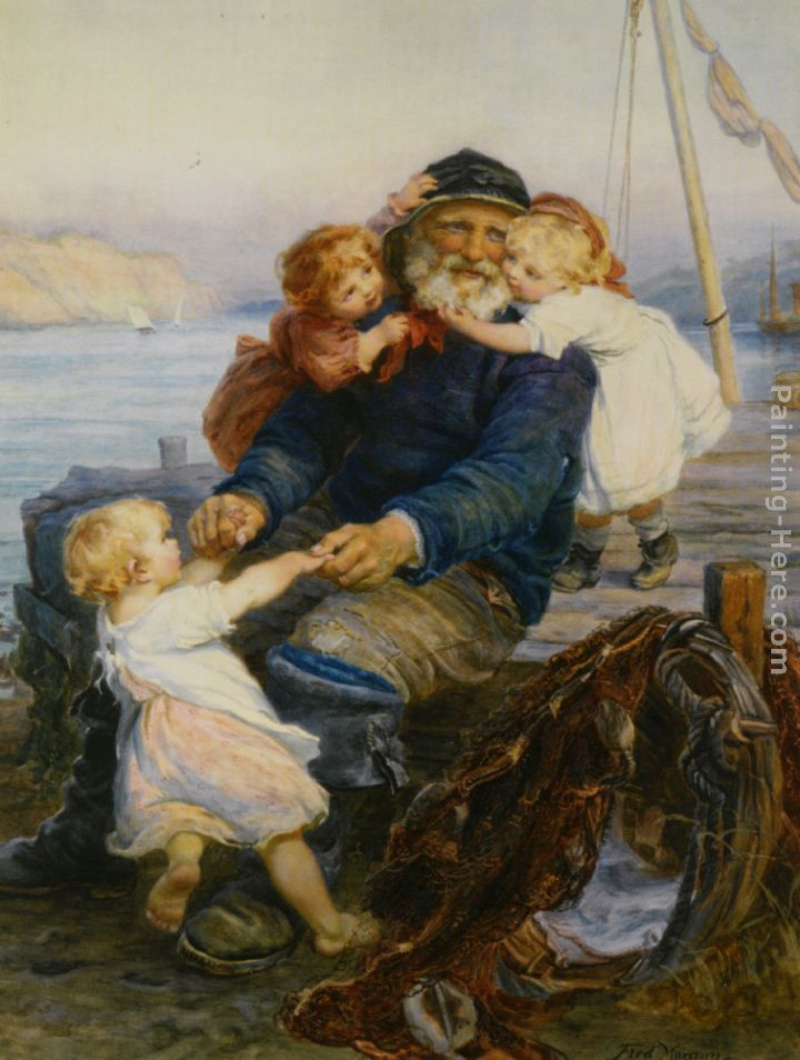 Frederick Morgan Which One Do You Love Best Art Painting