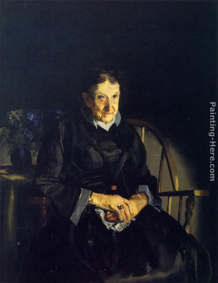 Aunt Fanny painting - George Wesley Bellows Aunt Fanny art painting