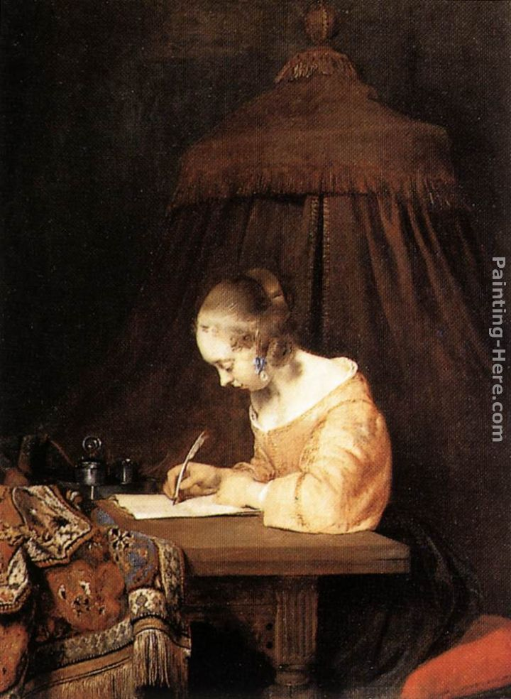 Gerard ter borch woman writing a letter painting anysize 50 off woman writing a letter painting gerard ter borch woman writing a letter art painting publicscrutiny Gallery