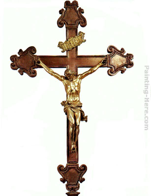 Altar Cross painting - Gian Lorenzo Bernini Altar Cross art painting