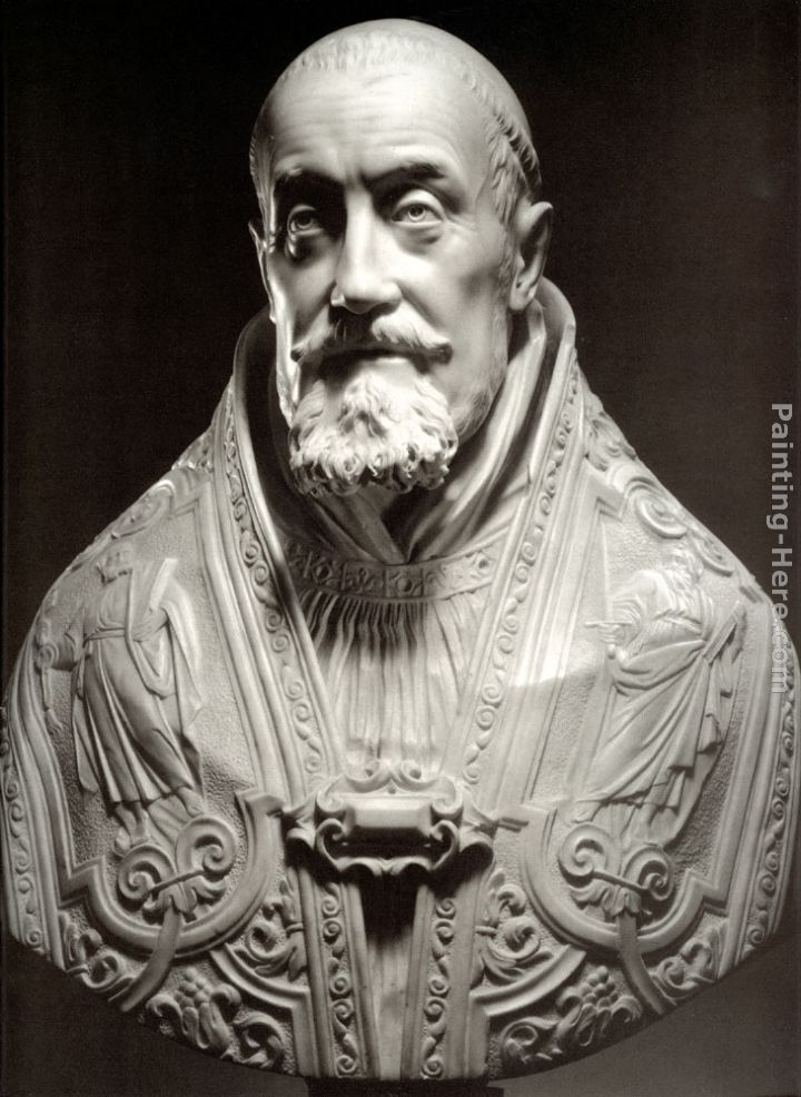 Bust of Pope Gregory XV painting - Gian Lorenzo Bernini Bust of Pope Gregory XV art painting