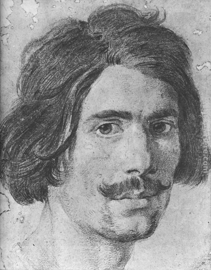 Portrait of a Man with a Moustache (Supposed Self-Portrait)