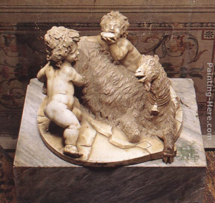 The Goat Amalthea with the Infant Jupiter and a Faun