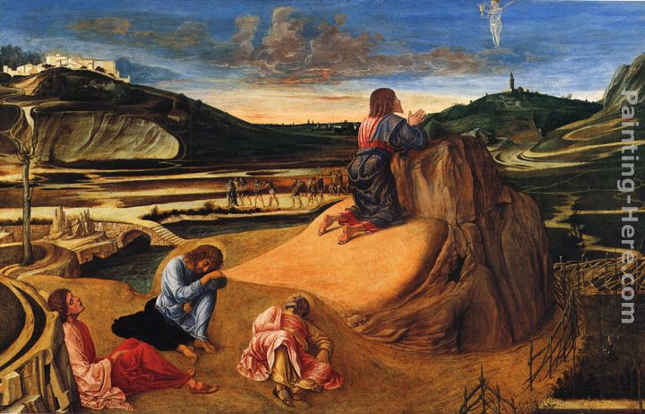 Giovanni Bellini Agony In The Garden Painting Anysize 50 Off Agony In The Garden Painting For