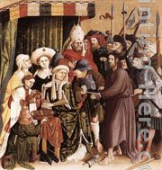 Christ before Pilate painting - Hans Multscher Christ before Pilate art painting