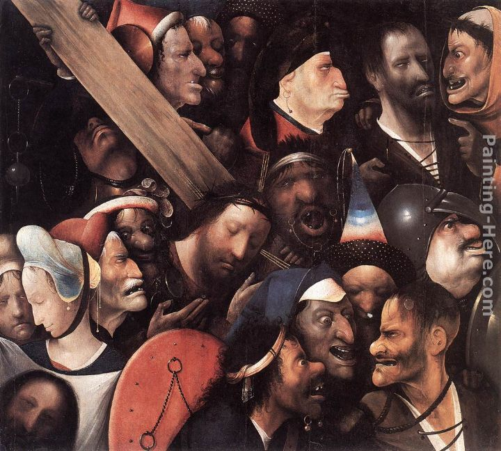 Christ Carrying the Cross painting - Hieronymus Bosch Christ Carrying the Cross art painting