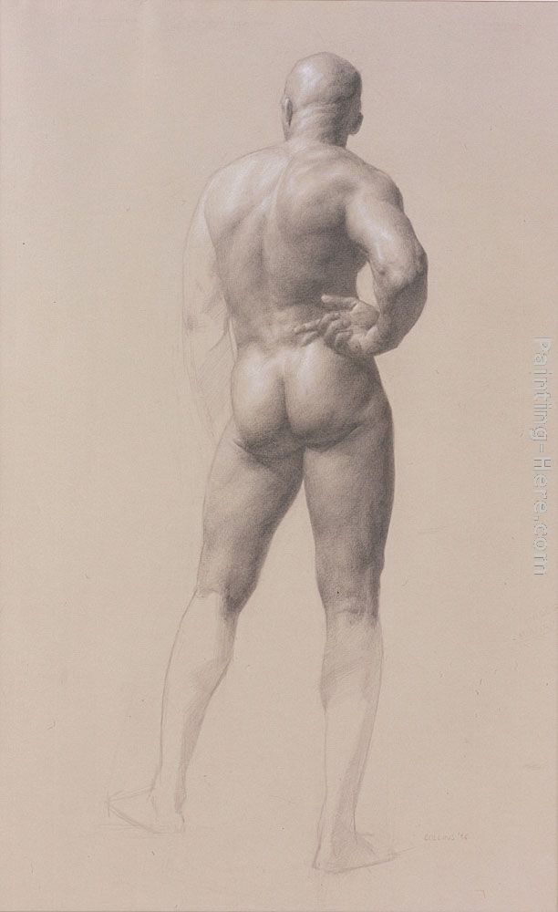 Jacob Collins Male Figure Art Painting