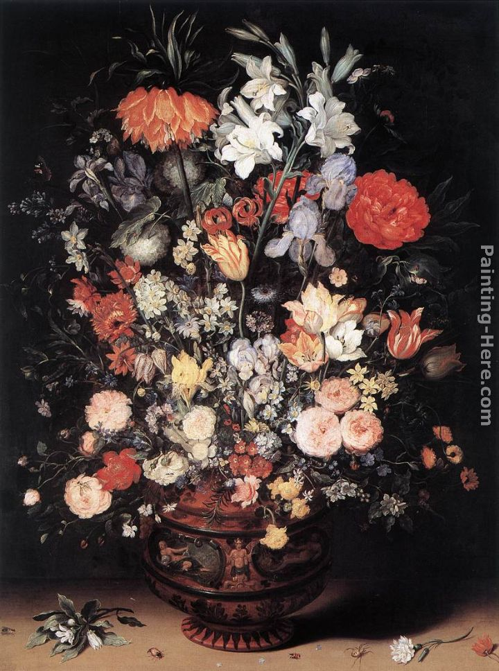 Jan The Elder Brueghel Flowers In A Vase Painting Anysize 50 Off