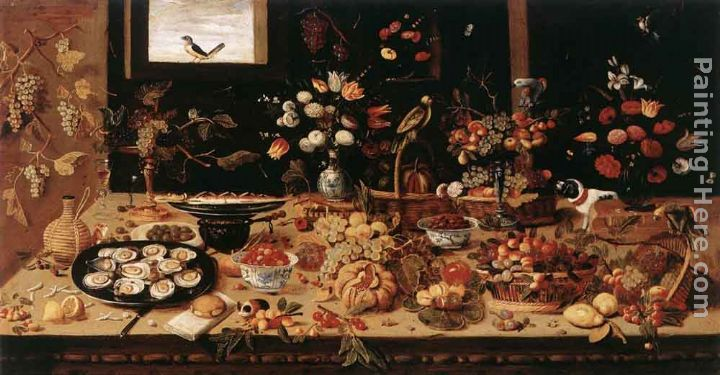 Still-Life painting - Jan van Kessel Still-Life art painting
