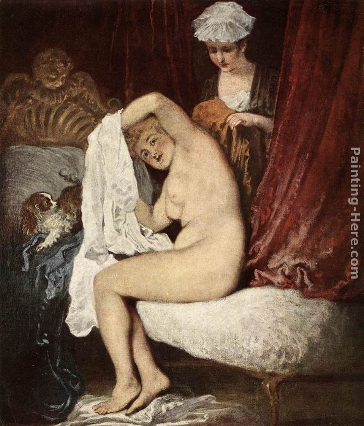Jean-Antoine Watteau The Toilette Art Painting