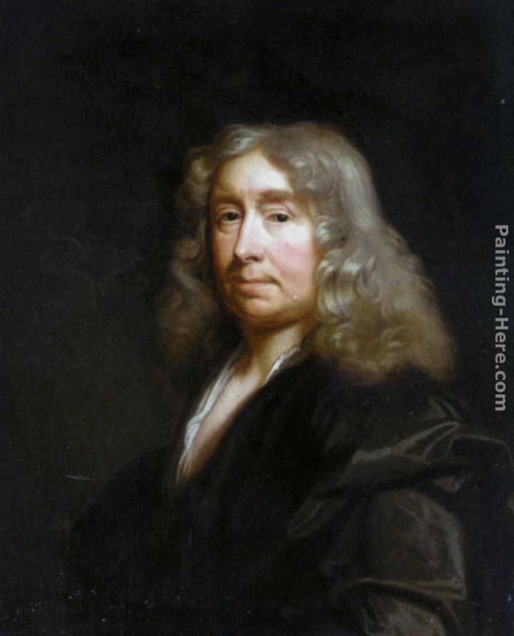 John Riley Portrait of William Chiffinch Art Painting