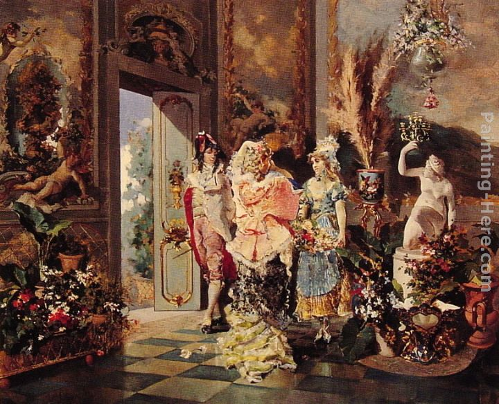 Rococo publish with glogster for Rococo period paintings