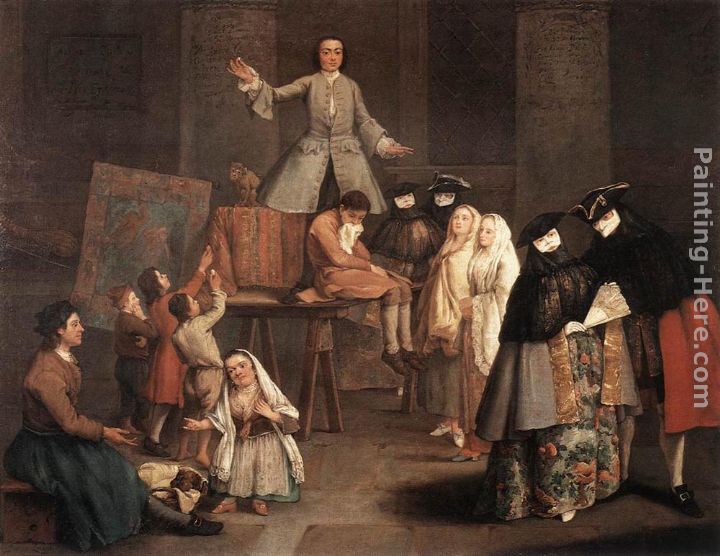 The Tooth Puller painting - Pietro Longhi The Tooth Puller art painting
