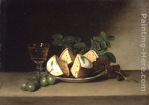 Still Life with Cake painting - Raphaelle Peale Still Life with Cake art painting