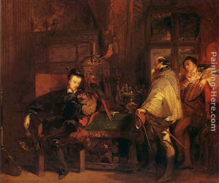 Richard Parkes Bonington Henri III And The English