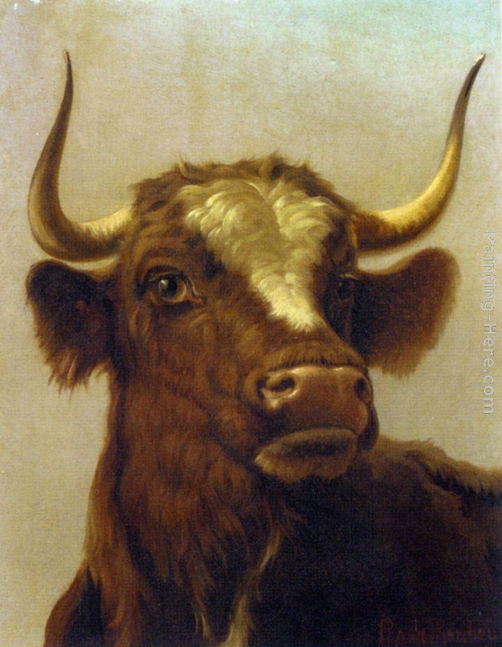 Top Rosa Bonheur Head of a Bull painting anysize 50% off - Head of a  DC26